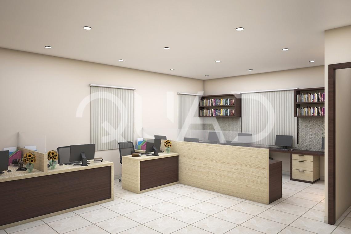 Quad Design | Mr.James Jefferson Office